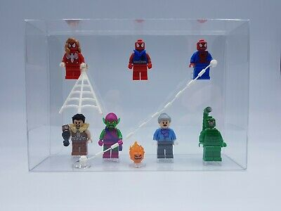 Lego Lot 7 Figurines Du Set 76057 Le Pont De Spiderman