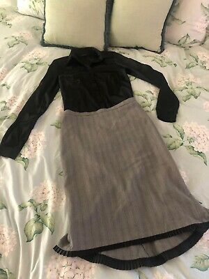 Review Fishtail Skirt Size 8 & Witchery Top Blouse Size 6