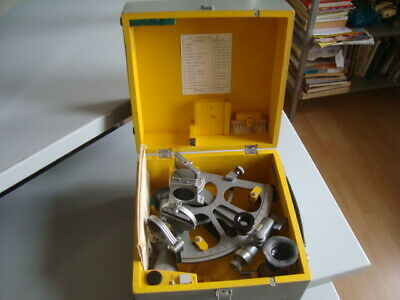 SOVIET RUSSIAN NAVY MARINE SEXTANT SNO-T made in 1987USSR