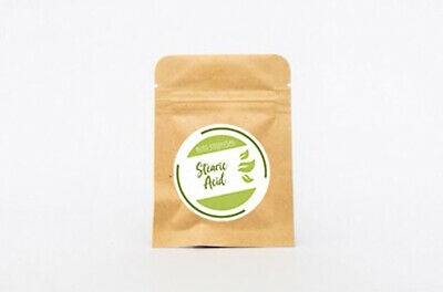 STEARIC ACID  | DIY cosmetics | Natural Soap and Candle making | Free Postage,