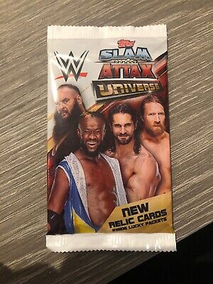 WWE Slam Attax Universe Trading Cards  - 1 Pack