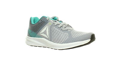 Reebok Womens Endless Road Grey/Teal/White/Black/Neon Lime Running Shoes Size 10