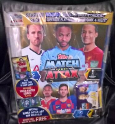 MATCH ATTAX UEFA Champions LEAGUE 2019/20 STARTER PACK TOPPS Europa