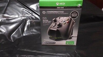 Power A Controller Charging Station w/ Elite Door for Xbox One Black PowerA