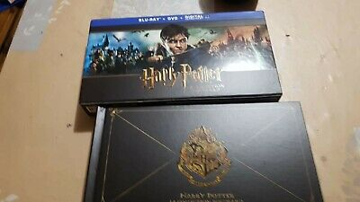 Harry Potter Hogwarts Collection 31 Disc Set 3d Blu-ray DVD sealed