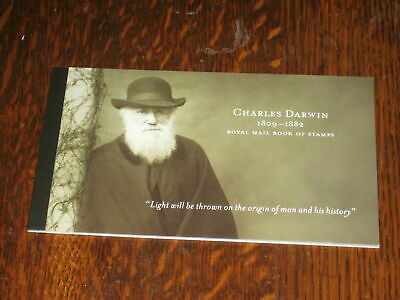 DX45 - Bicentenary of Charles Darwin - Prestige Stamp Book - Perfect