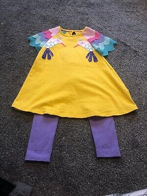Girls Marks And Spencer Dress And Leggings Set Age 2-3