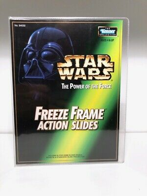 STAR WARS Mail Away FREEZE FRAME Action Slide Sleeve Holder Power of the Force