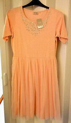 BNWT NEXT GIRLS AGE 16 PINK DRESS ((ideal For Christmas)