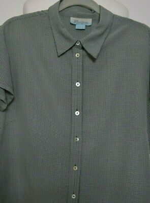 Vintage 1940's WWII Land girl look gingham blouse/shirt Monsoon size 16