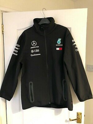 Official Mercedes AMG Petronas 2018 F1 Softshell Jacket ***Altered see below***