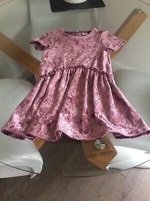 Bnwot Next Girls Christmas Party Dress Age 4 Years