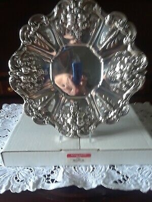 Reed and Barton Sterling Francis I Sandwich Tray PRISTINE!
