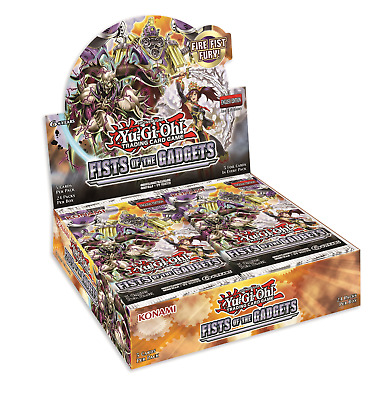 Yugioh Fists of the Gadgets FACTORY SEALED Booster Box 1st Edition