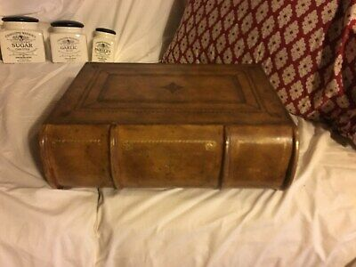 Maitland Smith LARGE   WOOD  Book Box  12 x 15 x 5 ""