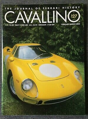Ferrari Cavallino Magazine Issue # February/March 2002 No.127
