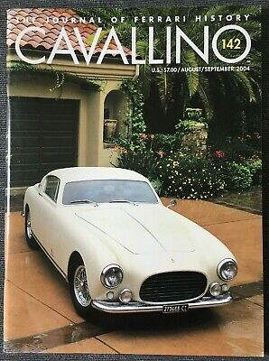 Ferrari Cavallino Magazine Issue # August / September 2004 No.142