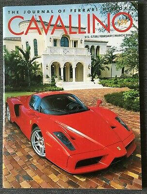 Ferrari Cavallino Magazine Issue # February / March 2004 No.139