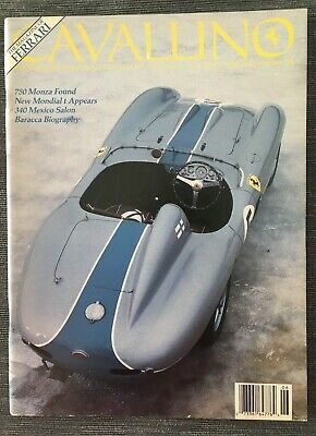 Ferrari Cavallino Magazine Issue # June/July 1989 No.51