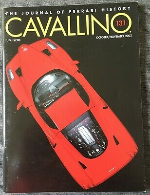 Ferrari Cavallino Magazine Issue # October/November 2002 No.131