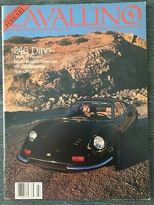 Ferrari Cavallino Magazine Issue # February/March 1989 No.49