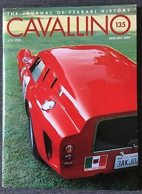 Ferrari Cavallino Magazine Issue # June/July 2003 No.135