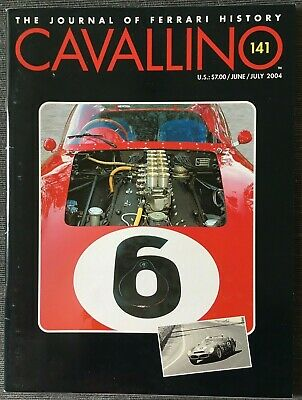 Ferrari Cavallino Magazine Issue # June / July 2004 No.141
