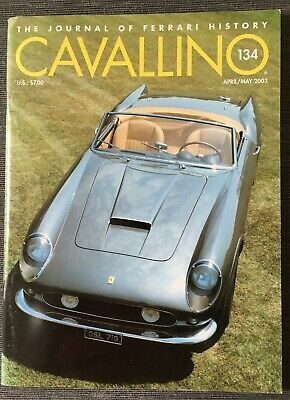 Ferrari Cavallino Magazine Issue # April/May 2003 No.134