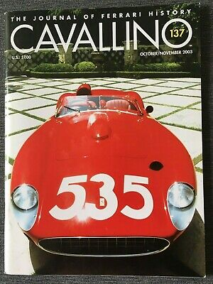 Ferrari Cavallino Magazine Issue # October/November 2003 No.137