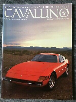Ferrari Cavallino Magazine Issue # February/March 1991 No.61