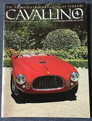 Ferrari Cavallino Magazine Issue # October/November 1991 No.65