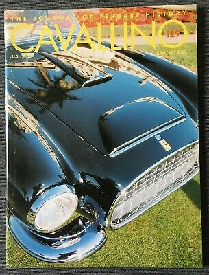 Ferrari Cavallino Magazine Issue # June/July 2002 No.129