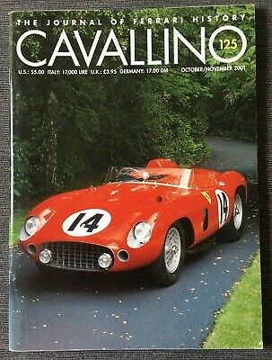 Ferrari Cavallino Magazine Issue # October/November 2001 No.125