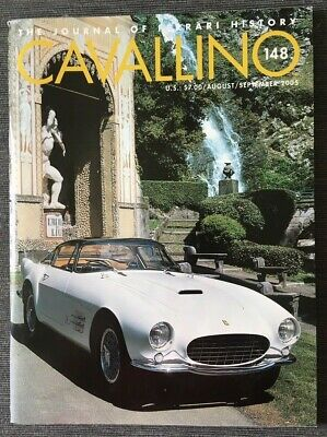 Ferrari Cavallino Magazine Issue # August / September 2005 No.148