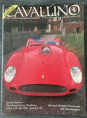Ferrari Cavallino Magazine Issue # December/January 1988 No.42