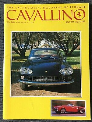Ferrari Cavallino Magazine Issue # June/July 1990 No.57