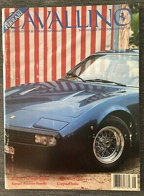 Ferrari Cavallino Magazine Issue # August/September 1988 No.46