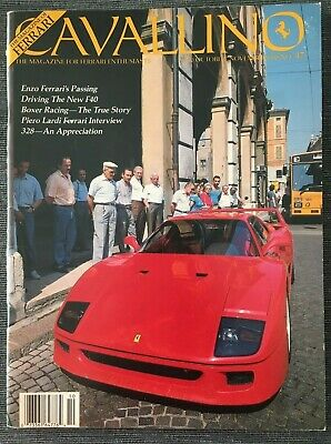 Ferrari Cavallino Magazine Issue # October/November 1988 No.47