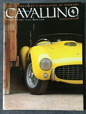 Ferrari Cavallino Magazine Issue # June/July 1992 No.69