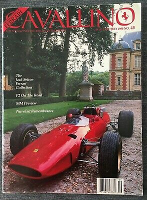 Ferrari Cavallino Magazine Issue # June/July 1988 No.45