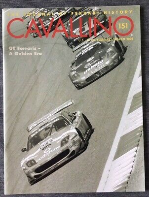 Ferrari Cavallino Magazine Issue # February / March 2006 No.151