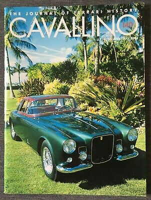 Ferrari Cavallino Magazine Issue # April / May 2004 No.140