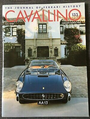 Ferrari Cavallino Magazine Issue # February/March 2003 No.133