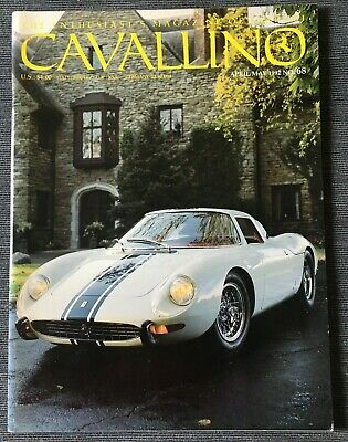 Ferrari Cavallino Magazine Issue # April/May 1992 No.68