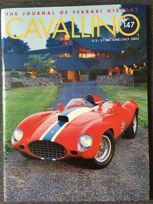 Ferrari Cavallino Magazine Issue # June / July 2005 No.147