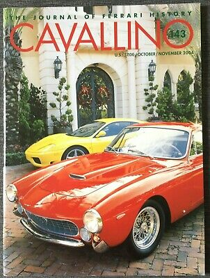 Ferrari Cavallino Magazine Issue # October / November 2004 No.143