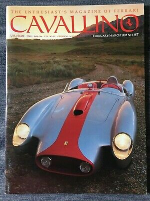 Ferrari Cavallino Magazine Issue # February/March 1992 No.67