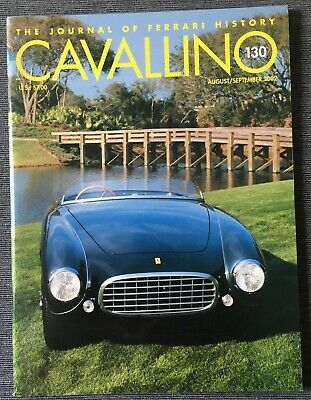 Ferrari Cavallino Magazine Issue # August/September 2002 No.130