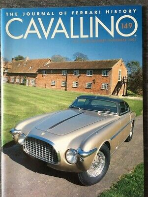Ferrari Cavallino Magazine Issue # October / November 2005 No.149