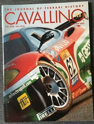 Ferrari Cavallino Magazine Issue # April/May 2002 No.128